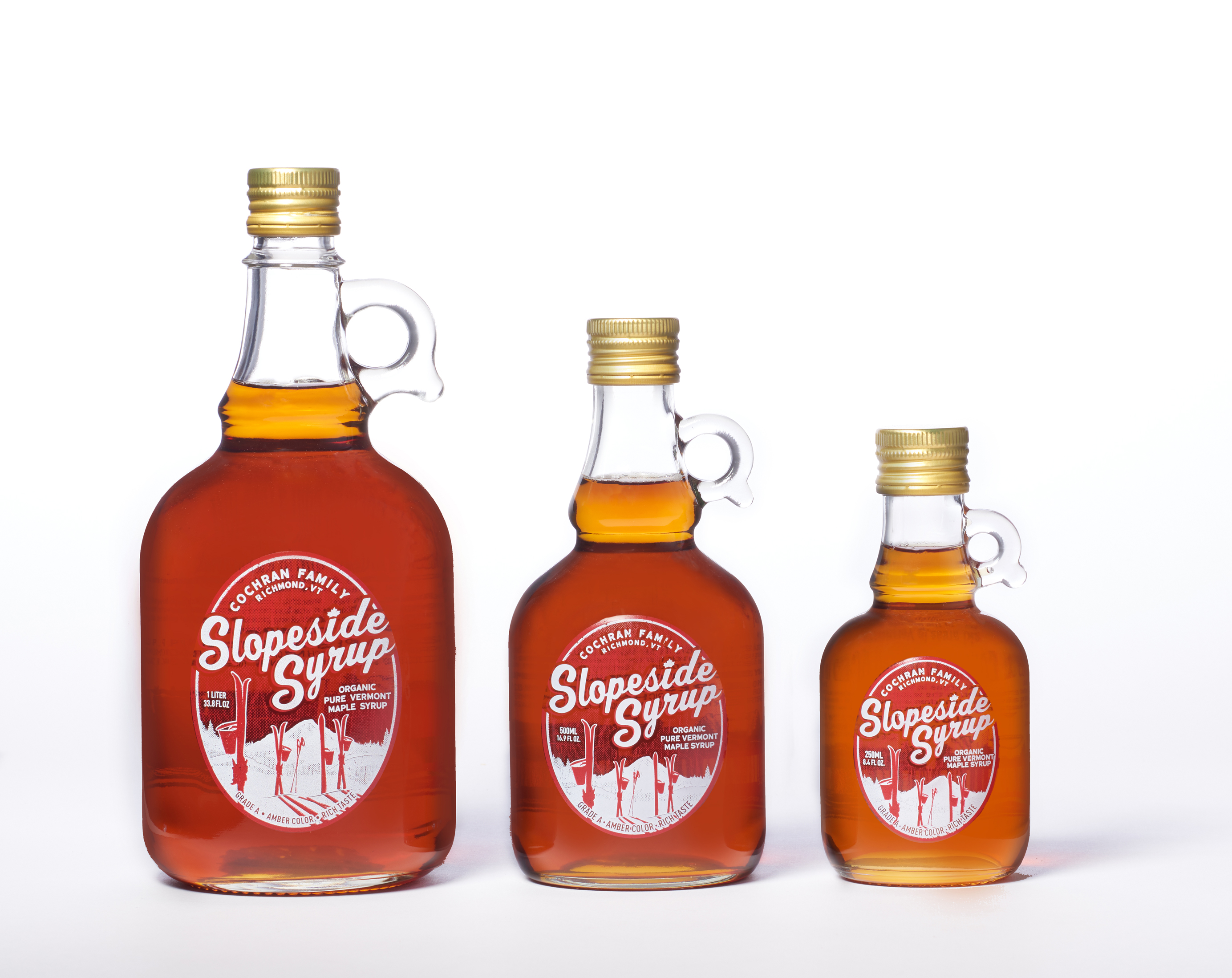 Organic Pure Vermont Maple Syrup