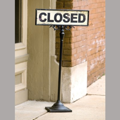 Open Close Stand Sign