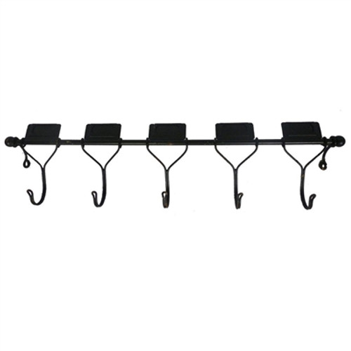 5-Hook Wall Rack