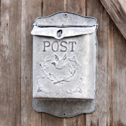 Metal Embossed Post Box