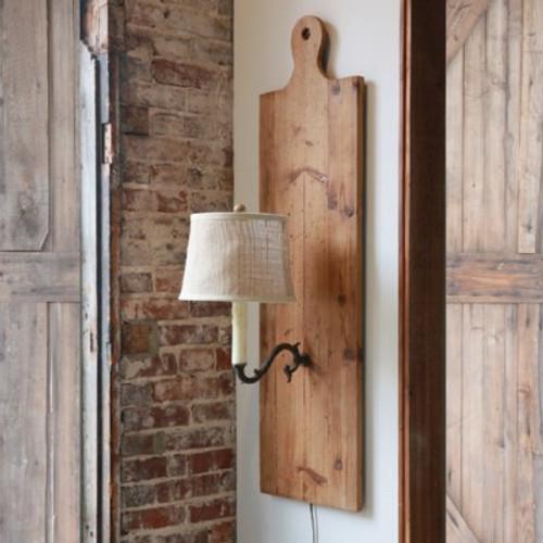 Cutting Board Wall Sconce