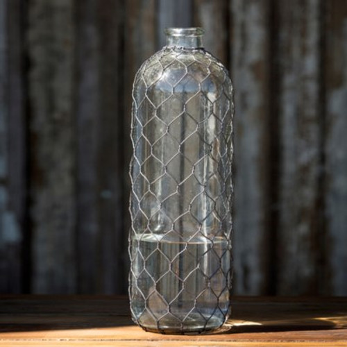 Bottle #13 With Poultry Wire