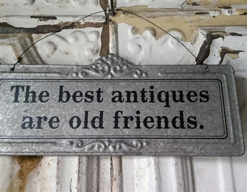 Antique Friend Sign