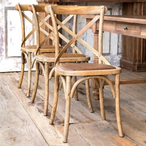 Wooden Cross Chair