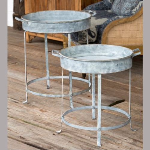 Round Tables Set of 2