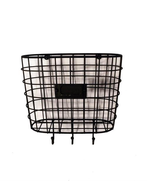 Metal Wire Basket Wall Pocket