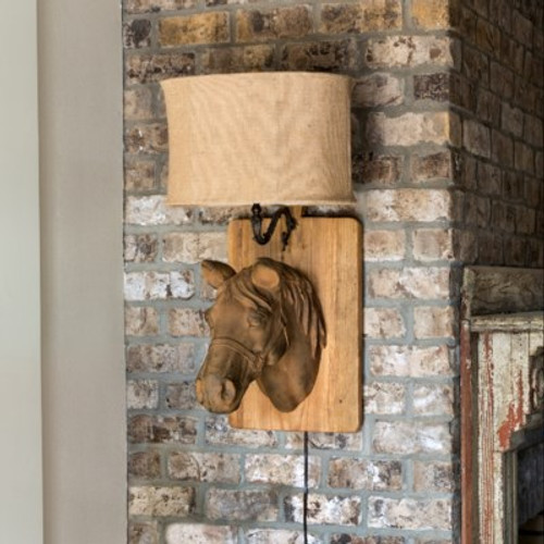 Horse Wall Sconce