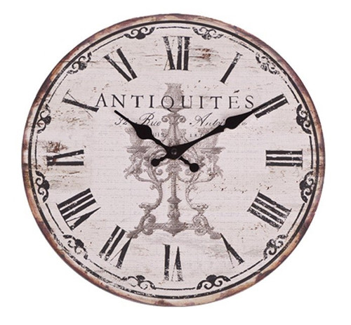 "Antiquities French 13"" Clock"