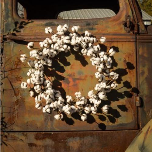 Large Cotton Wreath