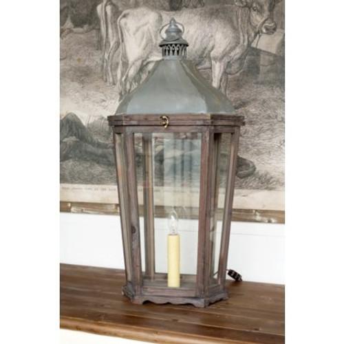 French Style Metal Lantern Lamp