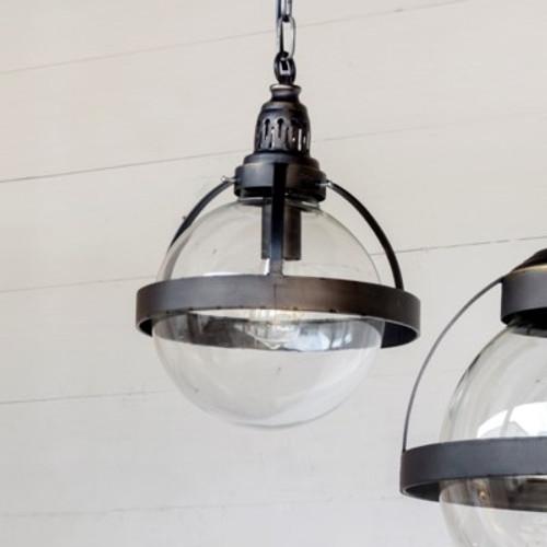 Small Bistro Globe Pendant