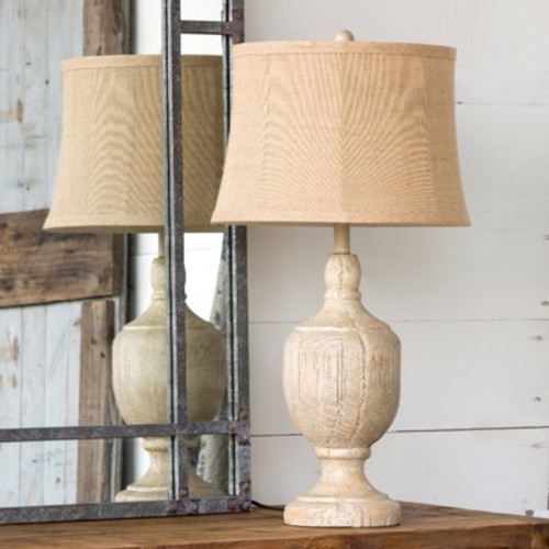 Weathered Post Lamp