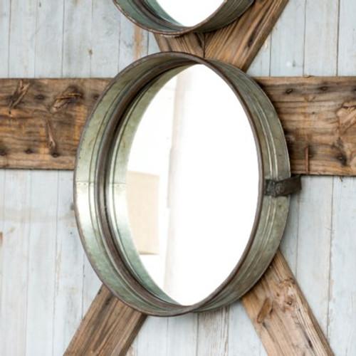 Large Drum Mirror