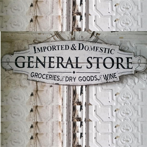 General Store Wood Plaque