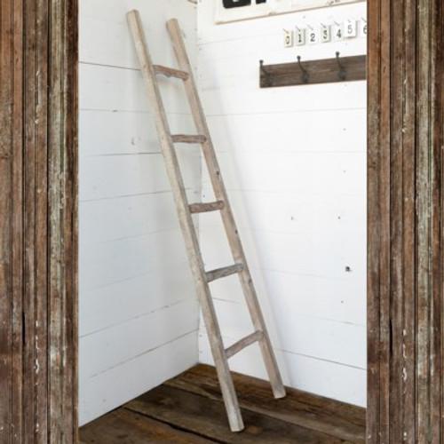 Primitive Wooden Display Ladder