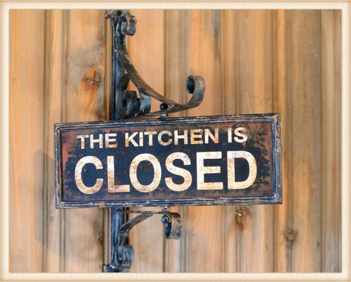 Kitchen Swivel Sign