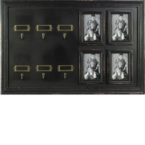 Key Holder 6 Hooks 4 Picture Frame
