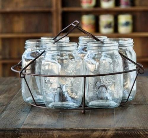 Quart Jar Canning Rack Centerpiece