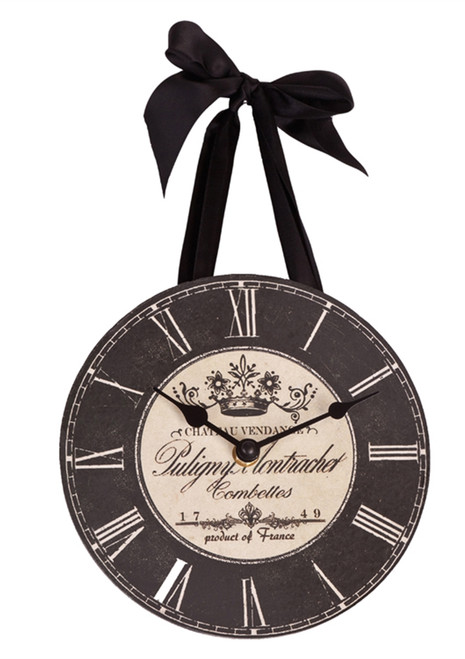 Chateau Vendange French Hanging Clock