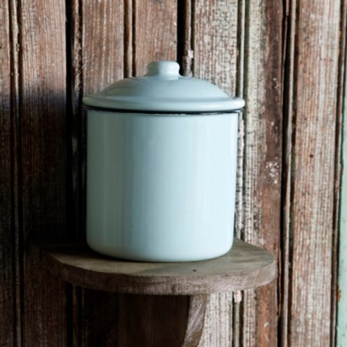 Enamel Small Canister