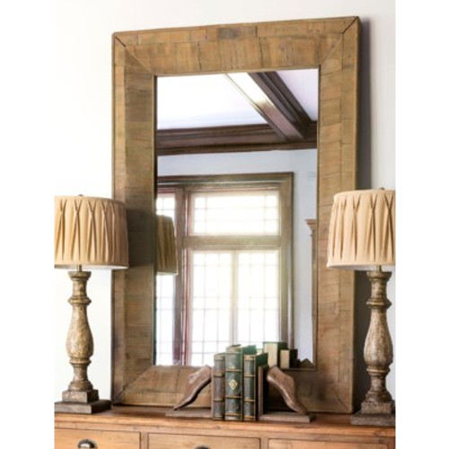 Reclaimed Wood Grand Entry Mirror
