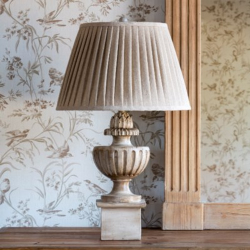 Painted Newel Post Lamp