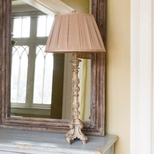 French Candlestick Lamp