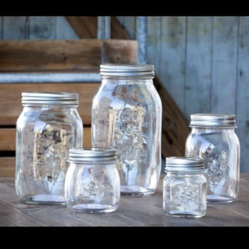 Mason Jar Canister Set of 5