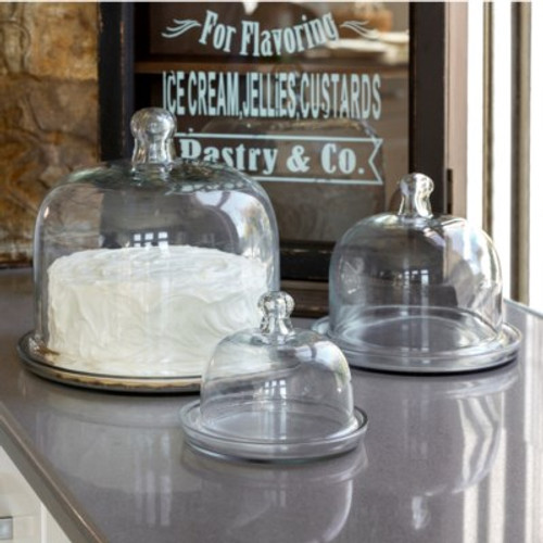 Cake & Pastry Domes Set of 3