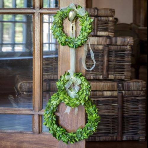 Boxwood Wreaths, Set of 3