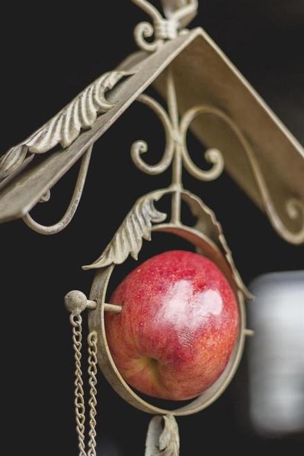 Scroll Apple Bird Feeder