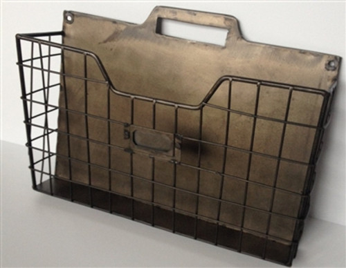 Metal Single Wall Pocket Organizer