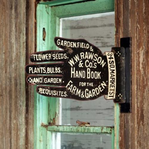 Garden Supply Shop Sign