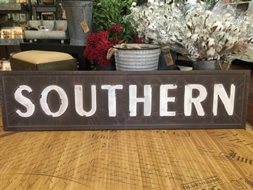 Metal Southern Sign