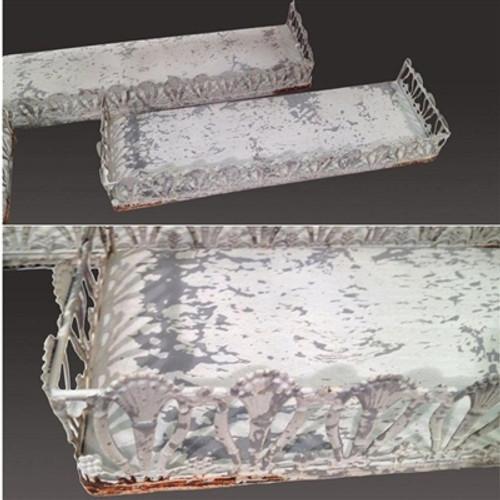 Filigree Shelf A (Cream) S/3