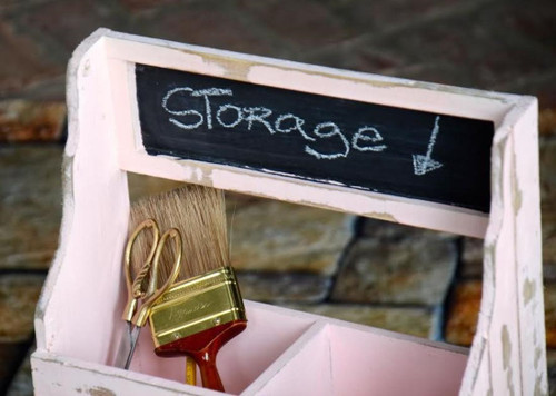 Pink Chalkboard Container