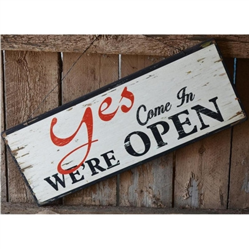 Yes/No Open Close Sign