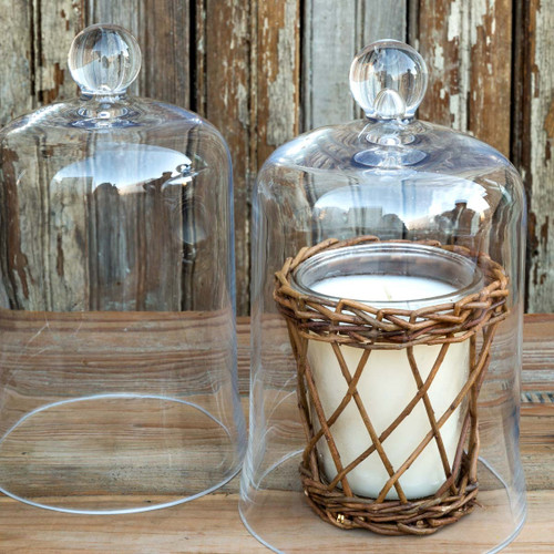 Candle Bell Jar Cloche