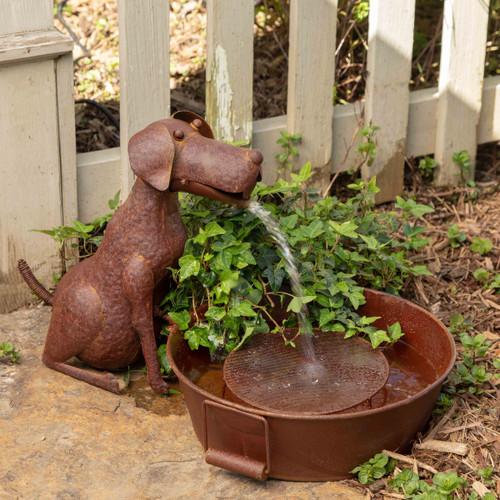 Best Friend Dog Fountain