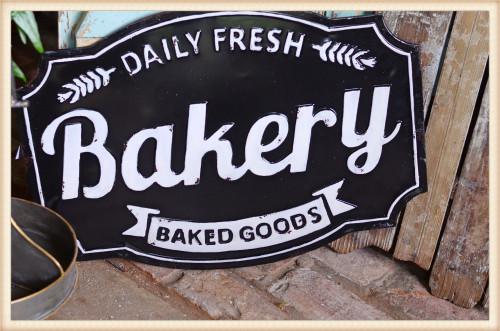 Bakery Sign Fresh Daily