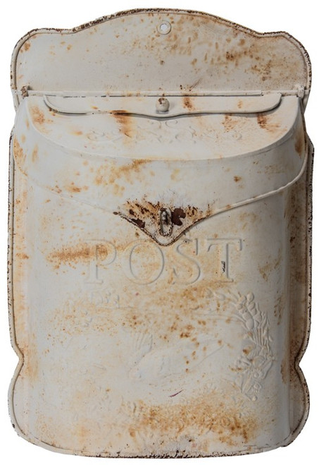 Vintage Style Mailbox White