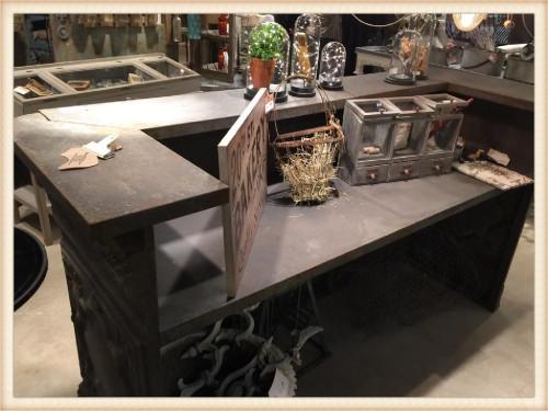 Metal Cash Wrap or Bar Counter