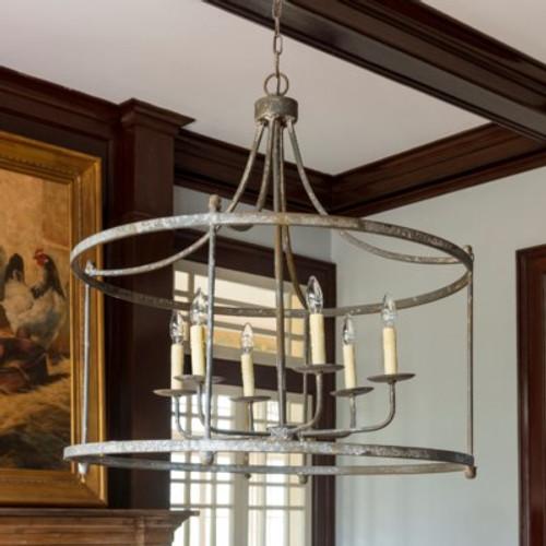 Savannah Estate Iron Light Fixture
