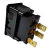 Wiper rocker switch single speed for early switch panel