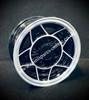 5x10 Black 5 Spoke Alloy wheel package for classic Mini