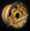 5x10 Gold 5 Spoke Alloy wheel package for classic Mini