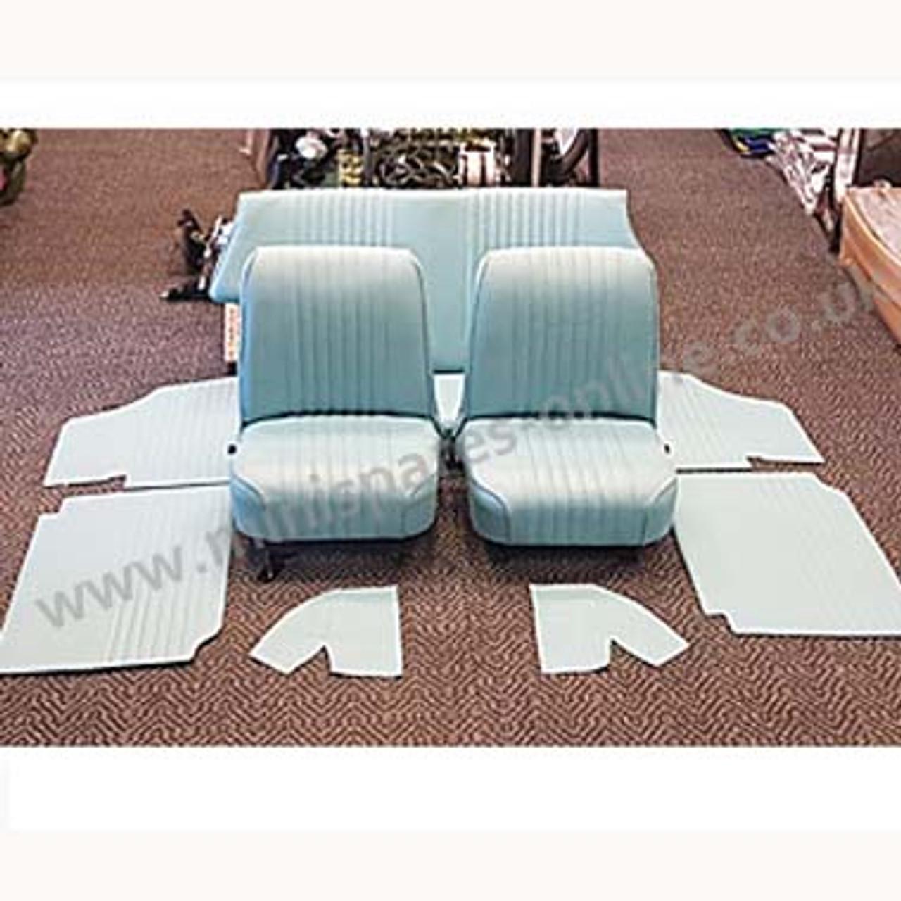 Powder Blue Interior for classic Mini
