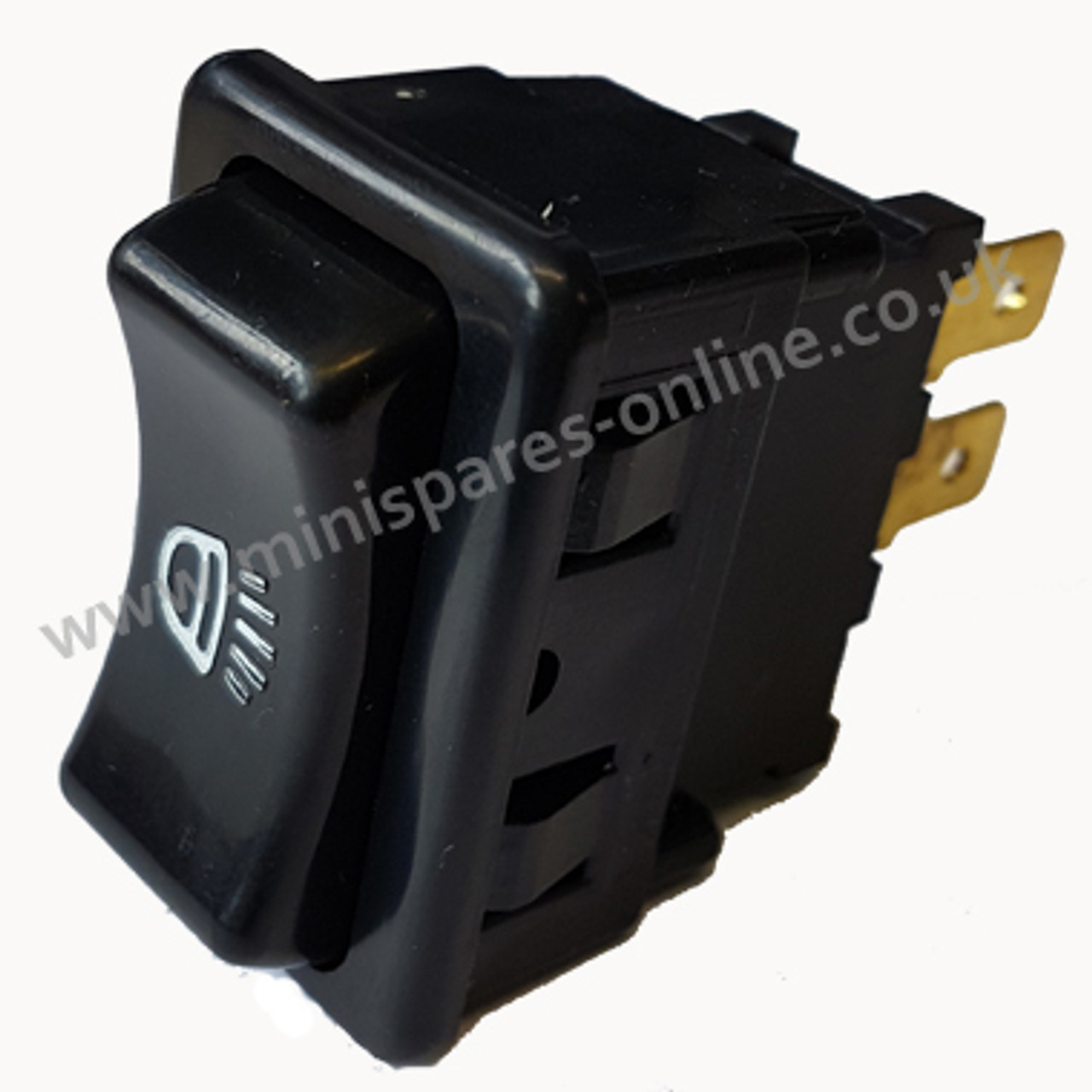 Lighting rocker switch for early switch panel