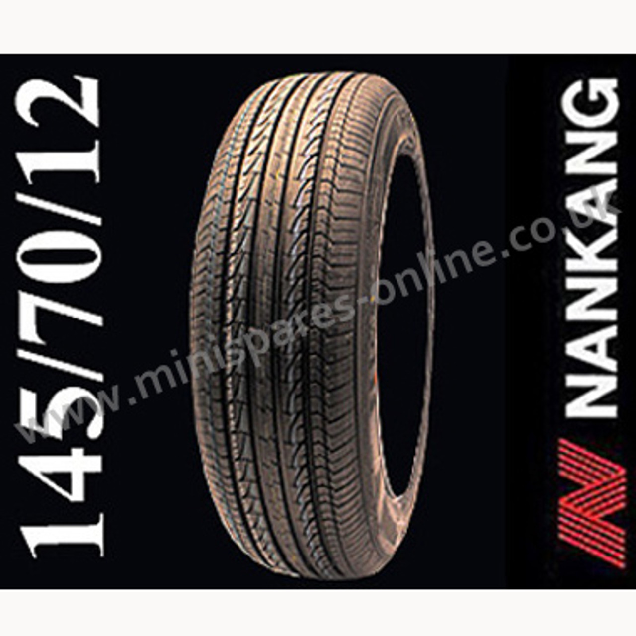 Nankang 145/70/12 tyre for Classic Mini