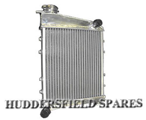 2 core alloy radiator